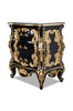Cristiana Side Table - Black & Gold