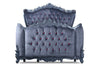Gryphon Reine Dark Desires Bed - Grey Velvet