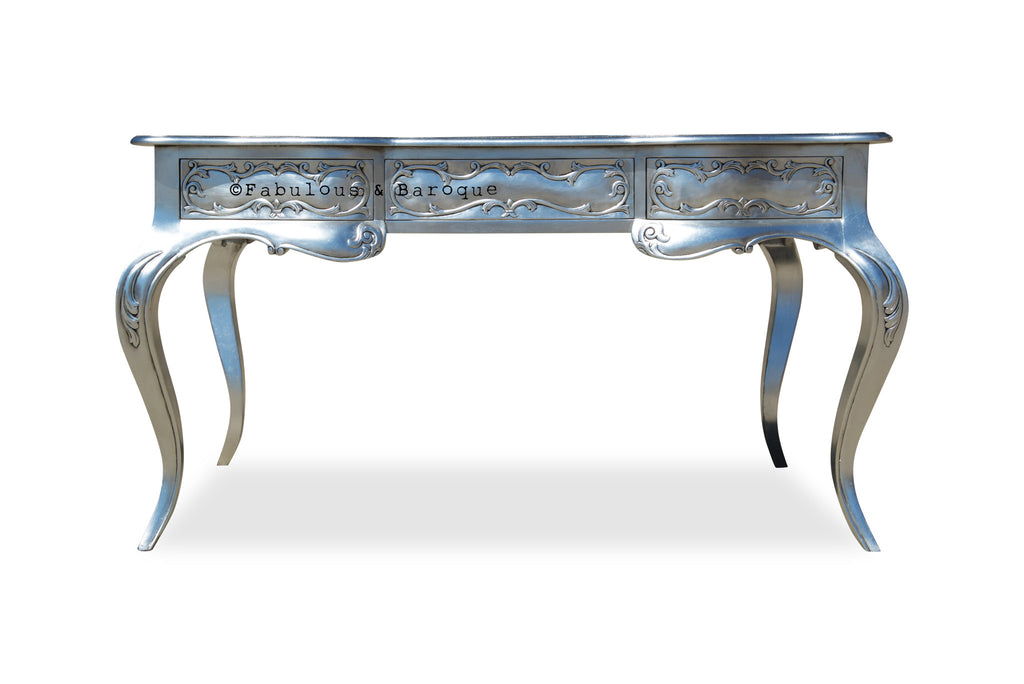 Amelie Writing Desk - Silver