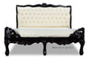 Genevieve Bed - Black & Ivory