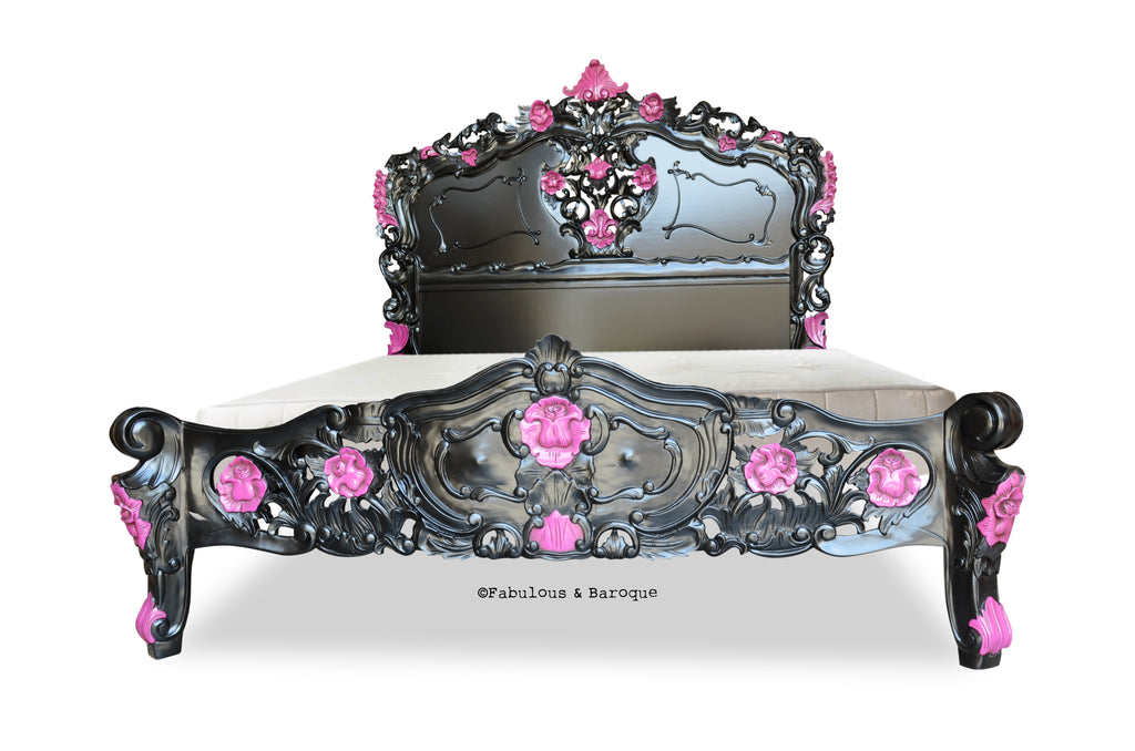 Fabulous & Rococo - Black & Pink Lacquer