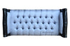 Fabulous & Baroque's Isadora French Upholstered Bench - Black & Grey