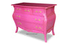 Fabulous & Baroque's Bordeaux Bombay 5 Drawer Chest - Fuchsia