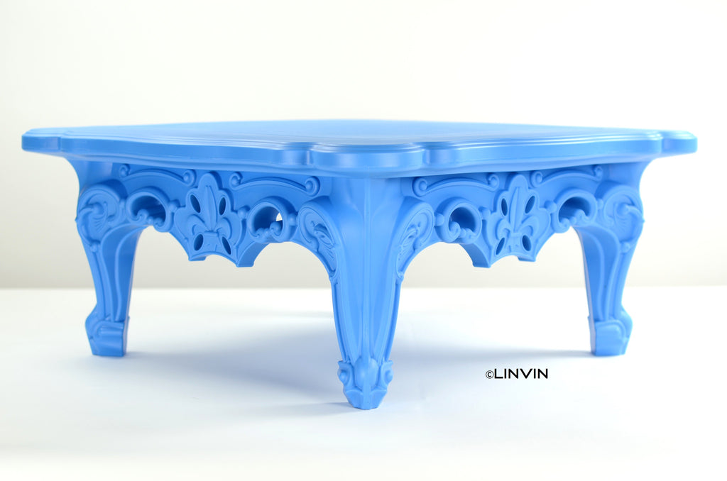 Duke of Love Cocktail Table - Ethereal Blue