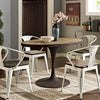 Drive Oval Wood Top Dining Table