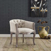 Crown Vintage French Upholstered Dining Armchair