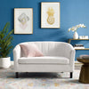 PROSPECT CHANNEL TUFTED VELVET LOVESEAT