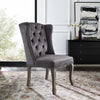 Apprise French Vintage Dining Performance Velvet Side Chair