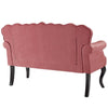 VIOLA CHESTERFIELD LOVESEAT VELVET SETTEE