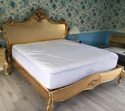Babette Bed - Gold Leaf - Client Photo & Kudos