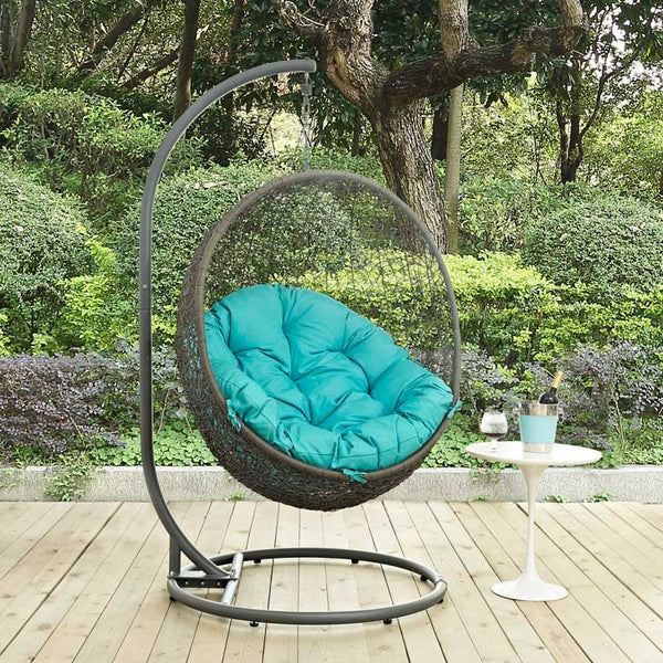 Hide Outdoor Patio Swing Chair w/ Stand *Available in 18 color combos*
