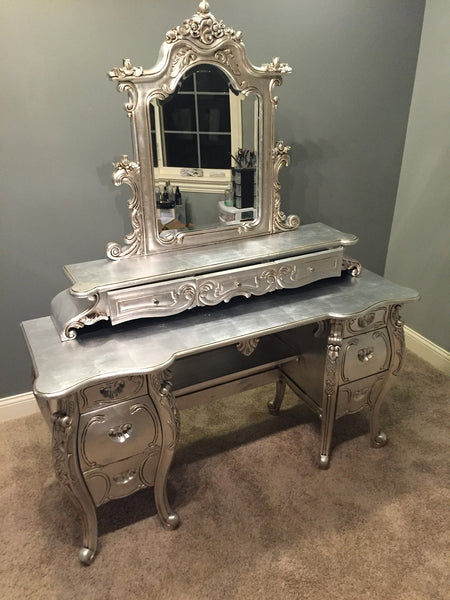 Fabulous & Rococo Dressing Table - Client Photo