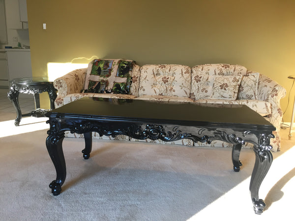 Absolom Roche Coffee Table - Black - Client Photo