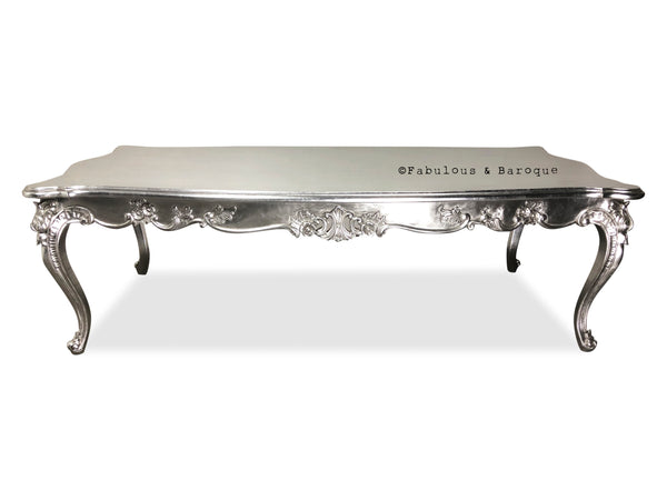 Sophia Coffee Table - Silver