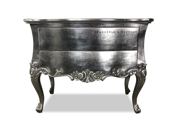 Sophia Night Stand  - Silver