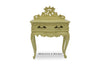 Royal Fortune Montespan Side Table - Ivory