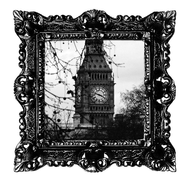 Baroque B&W Big Ben Frame - Small size