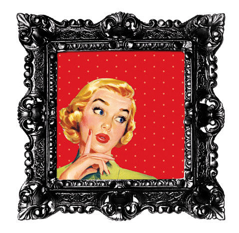 Baroque Pop Art Frame - Small size
