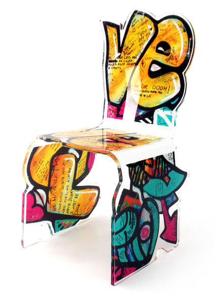 Street Art Chair - Yellow