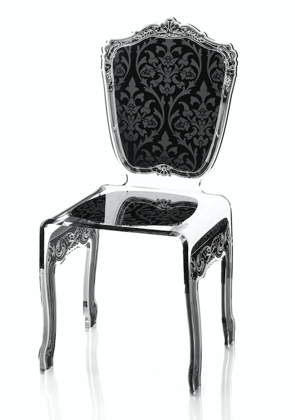 Baroque Chair - Black