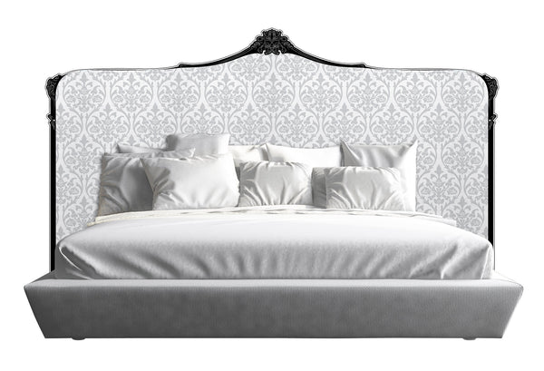 Baroque Headboard - White *Queen, King & Cali King*