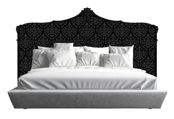 Baroque Headboard - Black