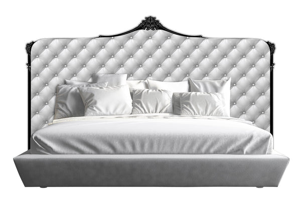 Capiton Headboard - White *King & Cali King*