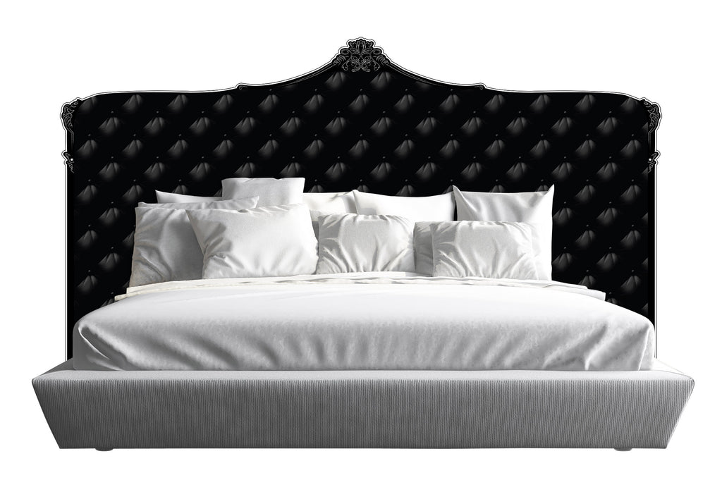 Capiton Headboard - Black *King & Cali King*