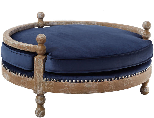 Hound Pet Bed - Navy
