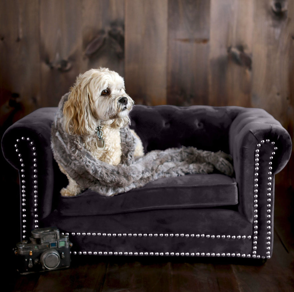 Westie Pet Bed - Grey