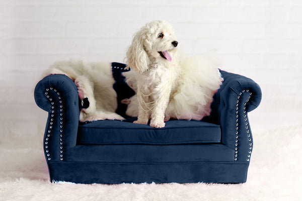 Yorkshire Pet Bed - Navy
