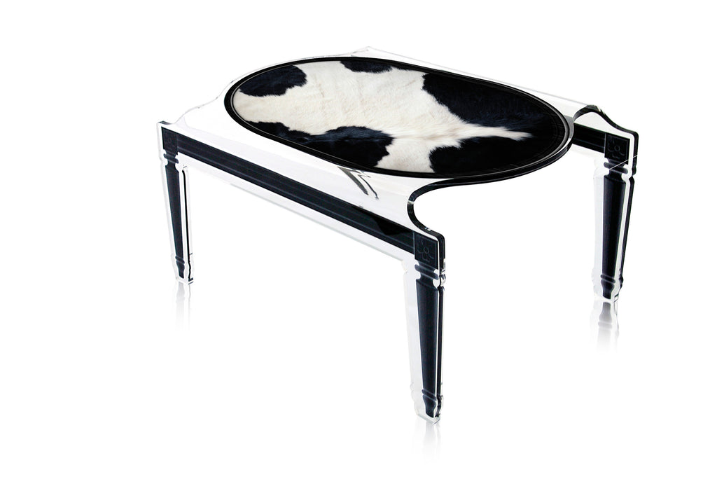 Sixteen Coffee Table - Cow Pattern