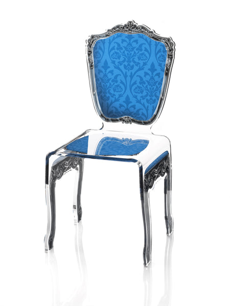 Baroque Chair - Blue