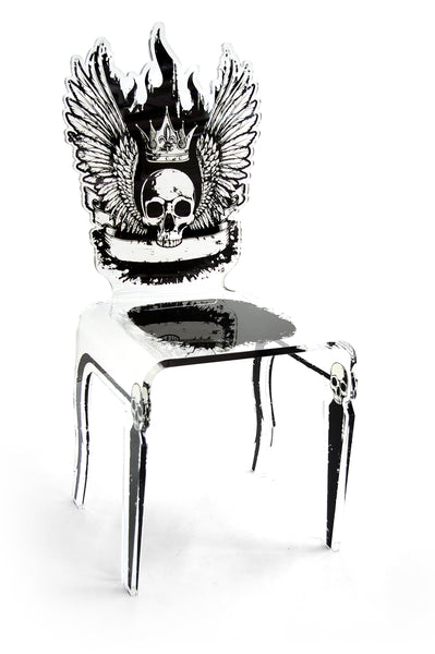 Let's Rock Chair - Skull