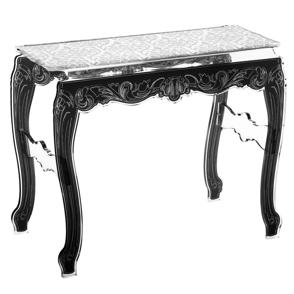 Baroque Console Table - White