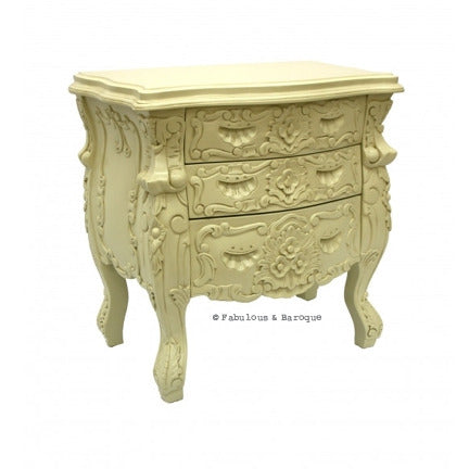 Fabulous & Rococo Side Table - Ivory