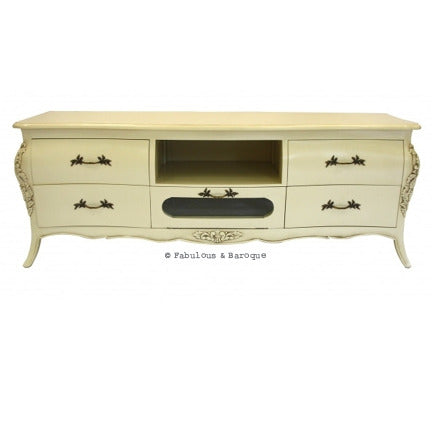 Bordeaux TV Console - Ivory
