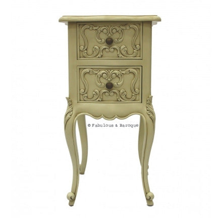 Josephine Petite Side Table - Ivory
