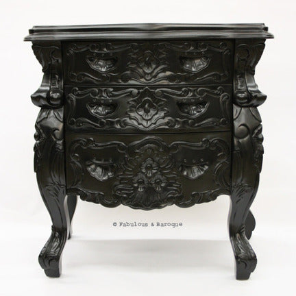 Fabulous & Rococo Side Table - Black