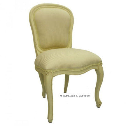 Fabulous French Side Chair - Ivory