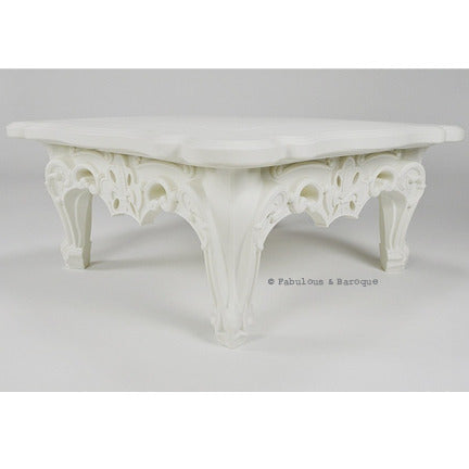 Duke of Love Cocktail Table - Simple White