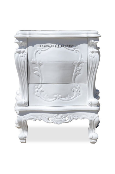 Gryphon Reine Side Table - White