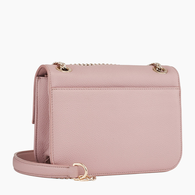 Small cross body Adele pebbled leather bag - Le Tanneur