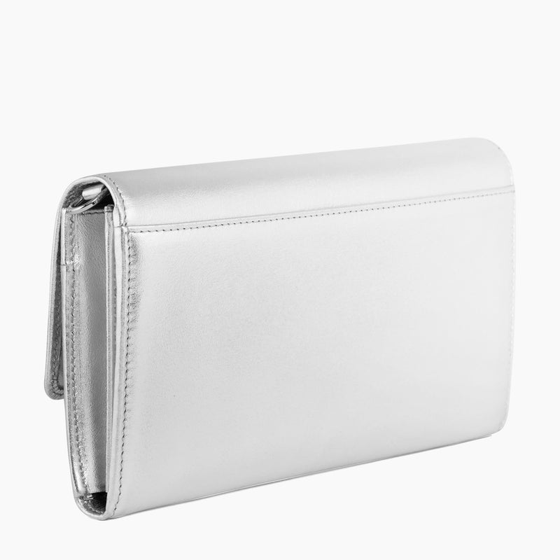 Adele smooth leather clutch - Le Tanneur