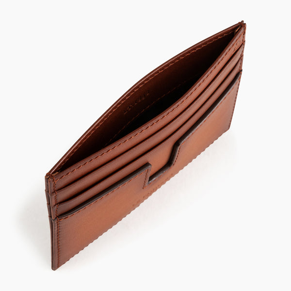 Card holder Albert smooth leather  - Le Tanneur