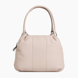 Alinepebbled leather 's large handbag - Le Tanneur