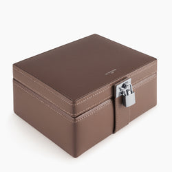 Small leather jewelry box - Le Tanneur