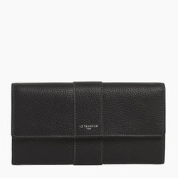 Jewellery pebbled leather pouch - Le Tanneur