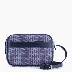 Camille small shoulder bag in coated canvas - Le Tanneur