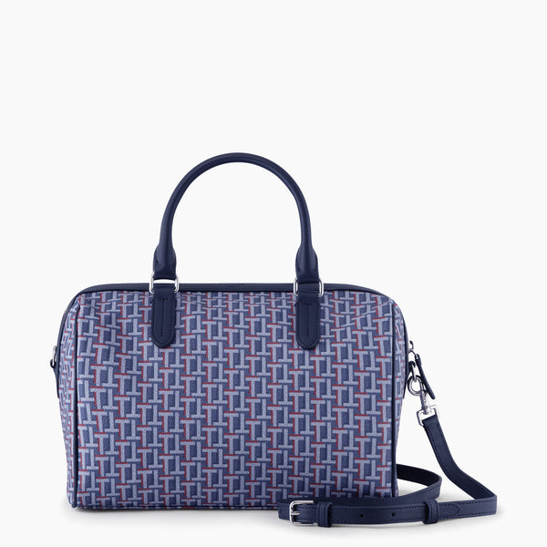 Camille bowling bag made of coated canvas - Le Tanneur